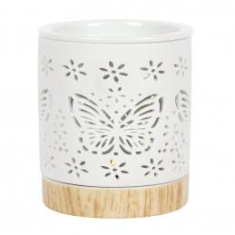 Kominek ceramiczny BUTTERFLY - motyw motyla