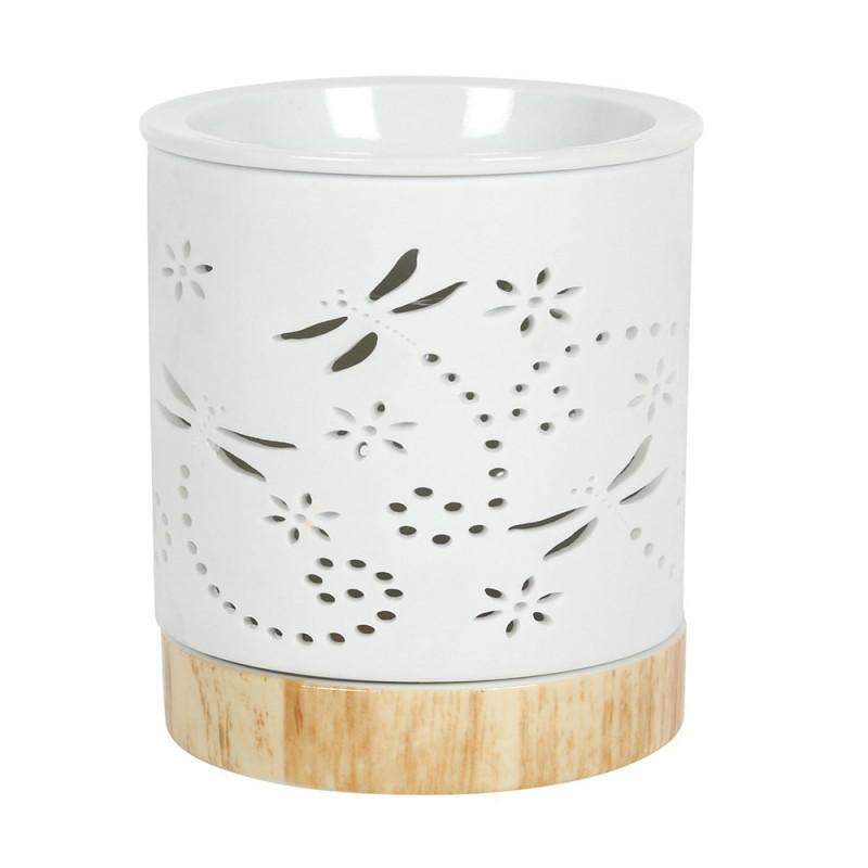 Kominek ceramiczny DRAGONFLY - motyw ćmy
