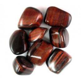Bawole oko kamień bębnowany  1 x 1 cm - zestaw 3 szt.