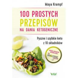 Egz. ekspozycyjny - 100 prostych przepisów na dania ketogeniczne.