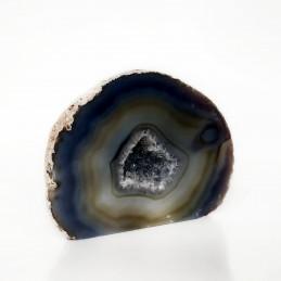 Agat szary - geoda stojąca (0,522 kg)