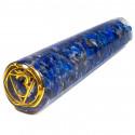 Orgonitowa różdżka do masażu z lapis lazuli + symbol Ajna (11 cm)