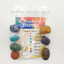 Kamienie czakralne - zestaw 7 sztuk