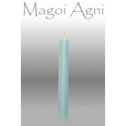 Świeca z wosku - błękitna 10 x 1,8 cm