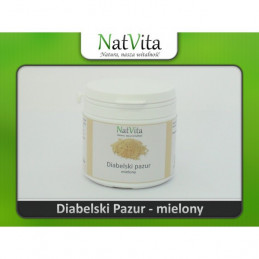 Diabelski pazur - mielony 100g